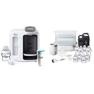 Tommee Tippee Perfect Prep Day & Night + FFP Complete Feeding Kit, White