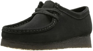 Clarks Originals Wallabee Flat Shoes - Black