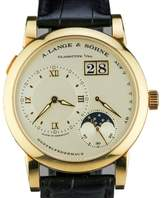 A. Lange & Söhne Lange 1 Moon Phase 18K Yellow Gold Watch 109.021