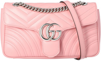 Gucci Gg Marmont Small Matelasse Leather Shoulder Bag