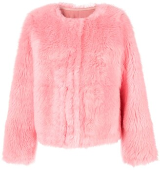 Yves Salomon Lamb Fur Jacket