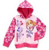 Children's Apparel Network PAW Patrol Pink Zip-Up Hoodie - Toddler