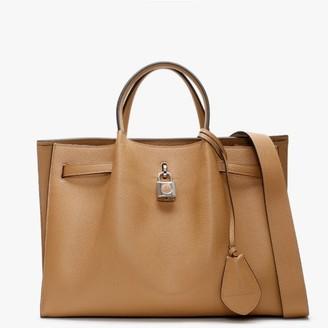 Lanvin Large Bogey Beige Tote Bag