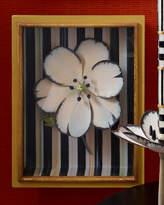 Mackenzie Childs MacKenzie-Childs White Tulip Shadow Box