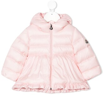 Moncler Enfant Padded Hooded Jacket