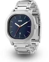 Edwin EW1G016M0084 Men's Stainless Steel Silver Bracelet Band Dial Watch