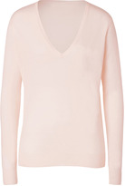 Joseph Cashmere Pullover in Powder