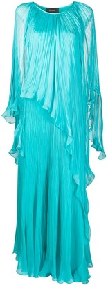 Irina Schrotter Micro Pleat Gown