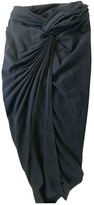 Donna Karan Grey Viscose Skirts