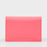 Paul Smith No.9 - Bright Pink Patent Leather Credit Card Wallet