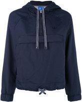 adidas cropped hooded sweatshirt - women - Polyamide/Polyester - 38