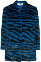 Mason by Michelle Mason zebra print jacket