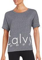 Calvin Klein Logo Athletic Top