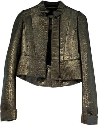 Bally Metallic Synthetic Jackets