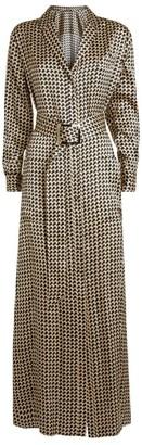 Kiton Maxi Shirt Dress
