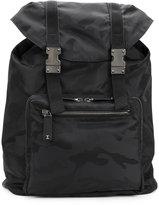 Valentino oversized backpack - men - Leather/Polyamide - One Size