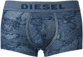 Diesel marbled effect boxers - men - Cotton/Polyester/Spandex/Elastane - S