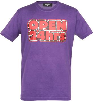 DSQUARED2 Open 24hrs T-shirt