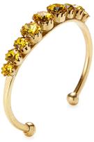 Elizabeth Cole Marigold Crystal Cuff Bracelet