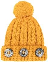 0711 Pompom Knit Beanie