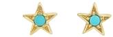 Jennifer Meyer Turquoise Mini Star Stud Earrings