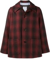 Visvim checked shirt overcoat