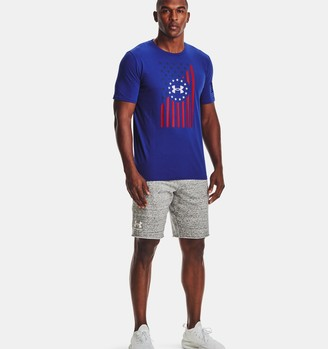 Under Armour Men's UA Freedom Front Flag T-Shirt