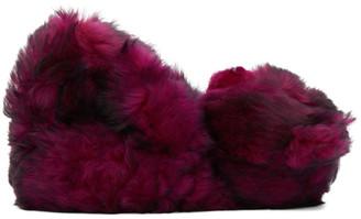 Vetements Pink Hug Me Bear Sandals