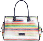 Dooney & Bourke Multi Watercolor Stripe Medium Tote, Created for Macy's
