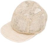 Overhead - woven cap - men - Jute - One Size
