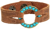 Leather Rock B650 Bracelet