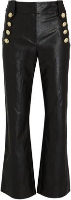 Derek Lam 10 Crosby Corinna Vegan Leather Sailor Pants