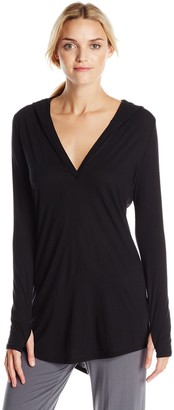 Yummie by Heather Thomson Women's Pima Jersey Hooded Coverup