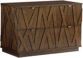 Lexington Home Brands Prism File Cabinet, Mocha