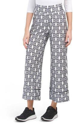 Printed Wide Leg Floral Lounge Pants