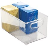 InterDesign Kitchen, Pantry, Refrigerator, Freezer Storage Container - Large, Clear