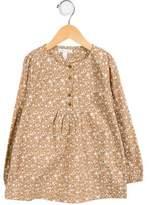 Marie Chantal Girls' Printed Long Sleeve Top