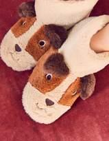 Boden Puppy Slippers