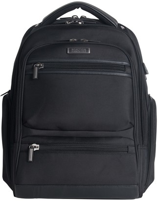 """Kenneth Cole Reaction TSA Checkpoint Friendly EZ-Scan 17.0"""" Computer Backpack With USB Charging Port"""