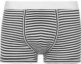 Dolce & Gabbana Striped Cotton-Jersey Boxer Briefs
