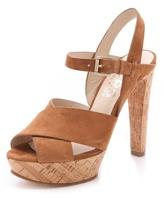 KORS Adair Cork Sandals