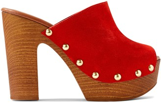 Nine West Shaya Heeled Clog Sandals