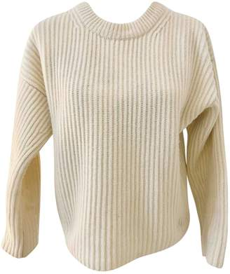 Harmony White Wool Knitwear for Women