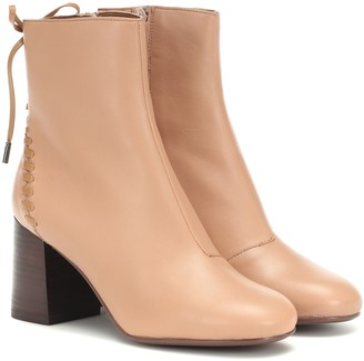 See By Chloã© Reese leather ankle boots