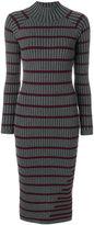 Alexander Wang ribbed knit stripe dress