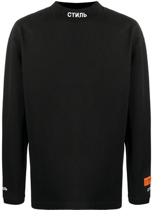 Heron Preston Embroidered Logo Sweatshirt