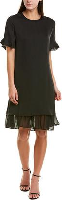 Hone Year Silk-Blend Shift Dress