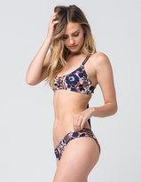Damsel Floral Strap Reversible Bikini Bottoms