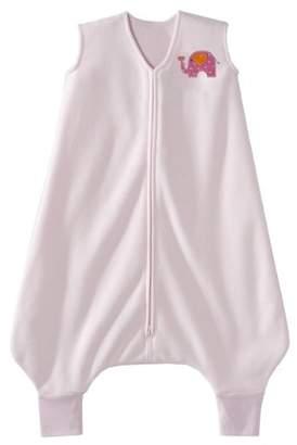 Halo Innovations Big Kids Wearable Blanket Fleece (4-5 Years, Pink Elephant)