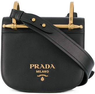Prada Pionniere Leather crossbody bag